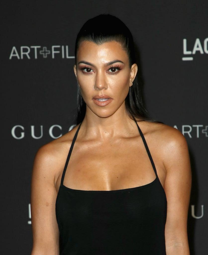 See Kourtney Kardashian's Heart-Shaped Cherry Manicure