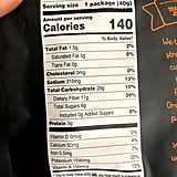 Trader Joe's Dehydrated Rainbow Carrots Snack Nutritional Info