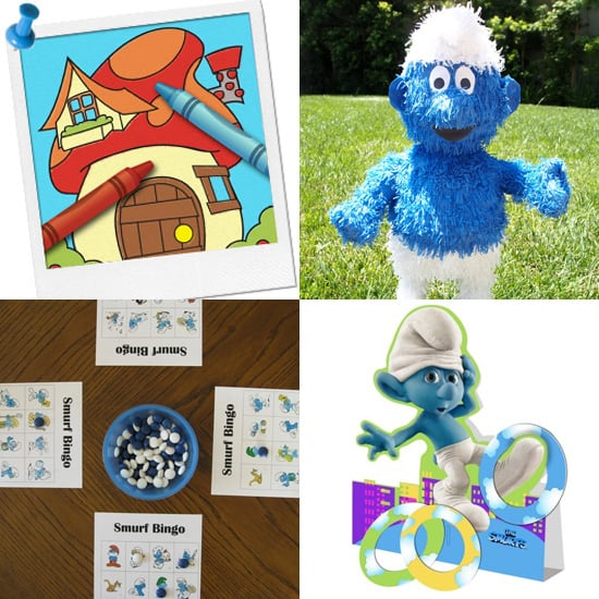 Smurfs Party Games and Activities