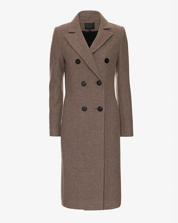 Exclusive for Intermix Double Breasted Knee Length Coat ($625)