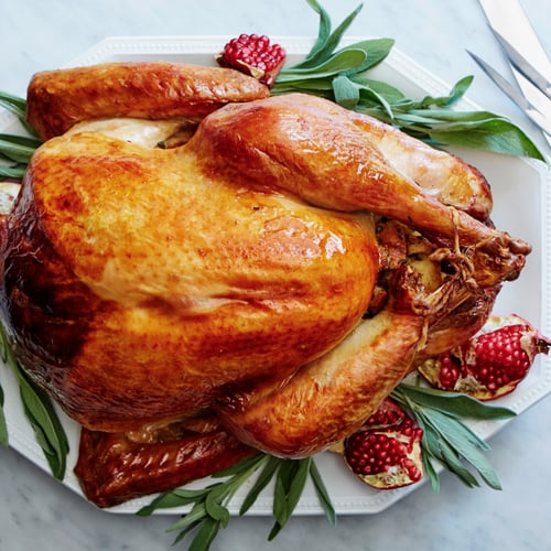 Perfect Roast Turkey With Giblet Gravy