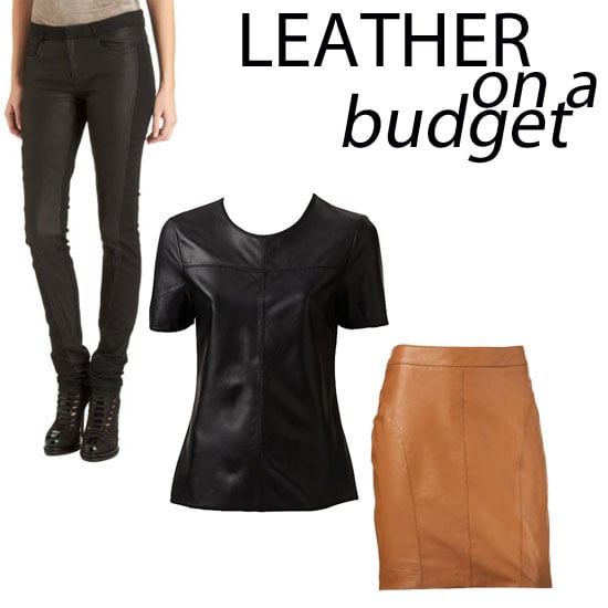Budget Leather Buys for Under $500: No Pleather Here! Shop Our Top Ten Picks from Style Stalker, sass & bide, Sportsgirl & more!