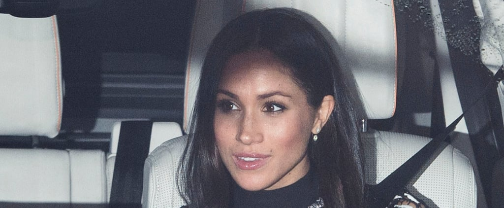 Meghan Markle Wears Lip Gloss at Christmas Dinner With Queen
