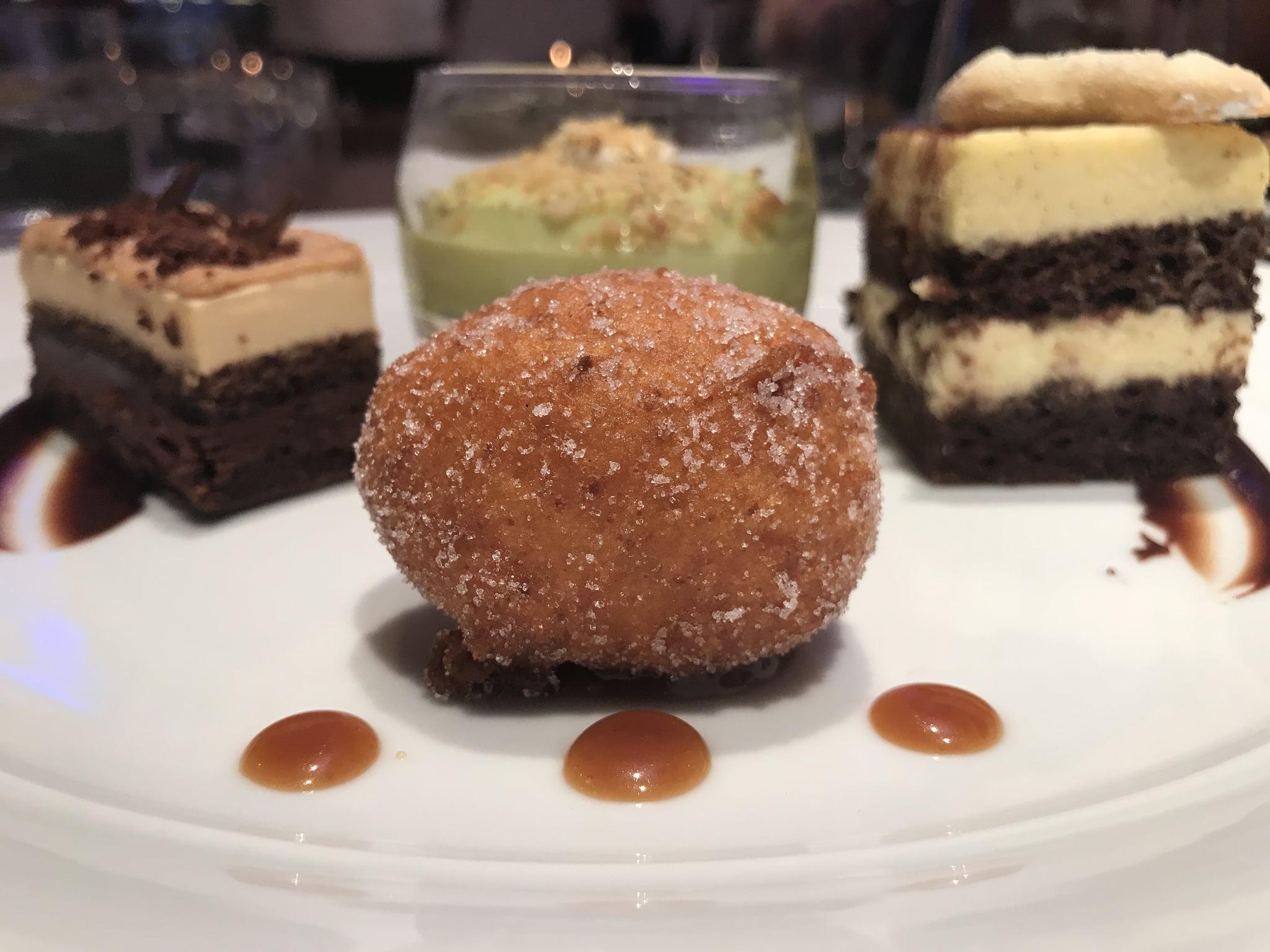 Desserts at Wolfgang Puck's Culina