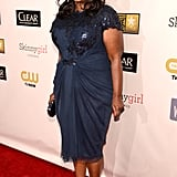 Octavia Spencer posed on the red carpet.