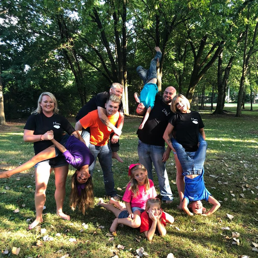 How Blended Family of 10 Coparents