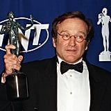 The late Robin Williams took home a best supporting actor award in 1998 for his role in Good Will Hunting.