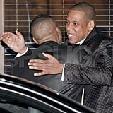 Jay-Z said bye to Nas.