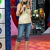 When She Appeared on MTV's TRL