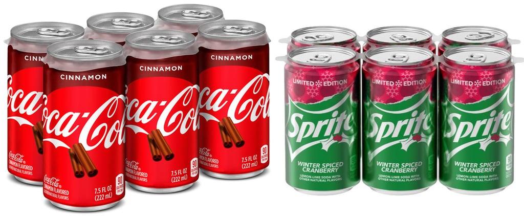 Cinnamon Coca-Cola and Winter Spiced Cranberry Sprite
