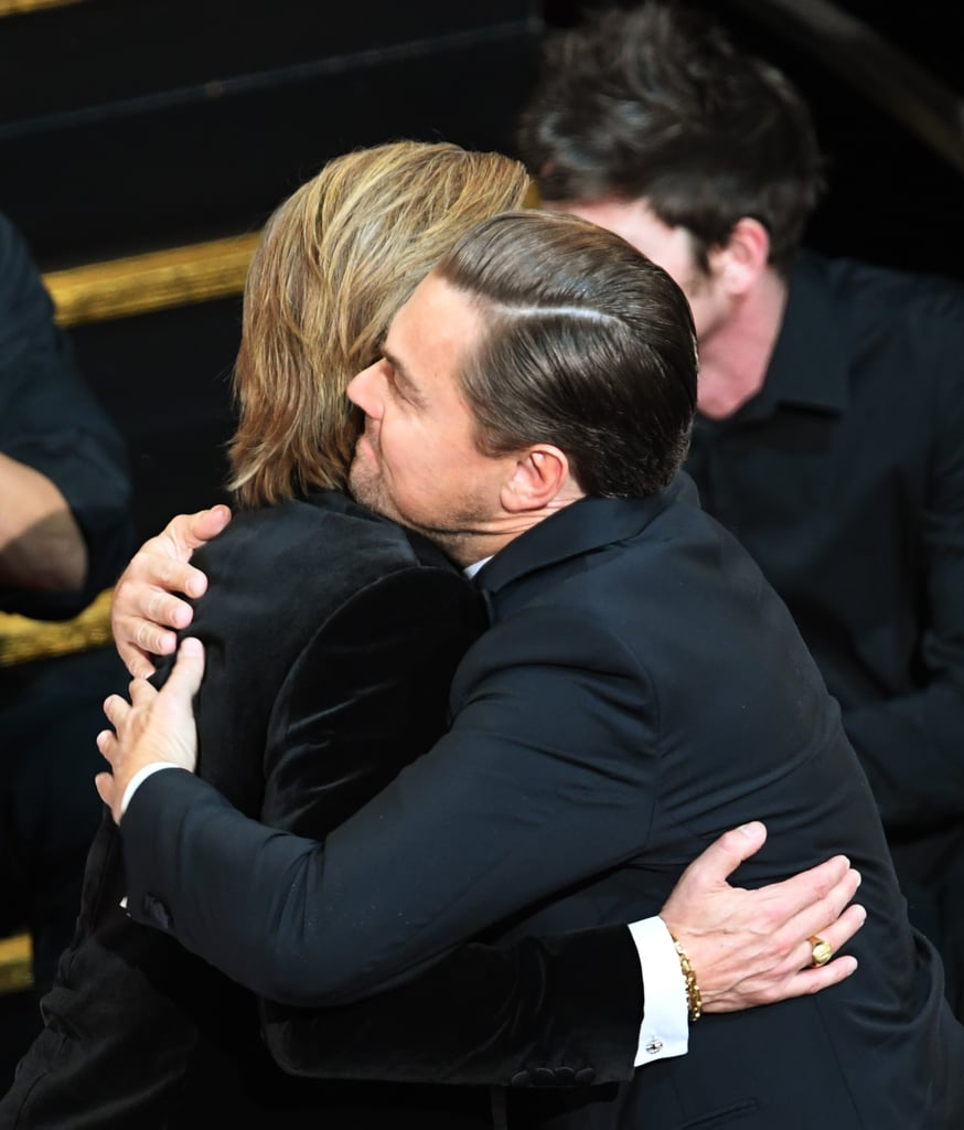 Photos of Brad Pitt Accepting His Oscar For Best Supporting Actor