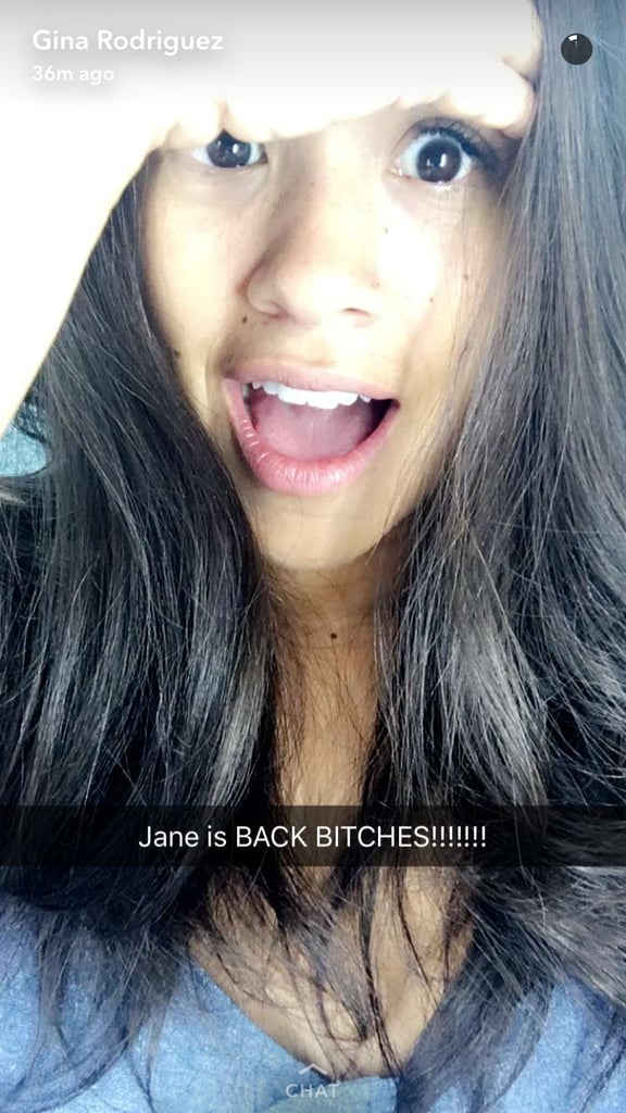 Jane the Virgin Season 3 Cast Snapchat Pictures August 2016