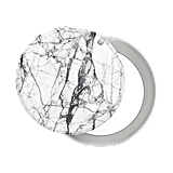 PopGrip Mirror Dove White Marble PopSocket