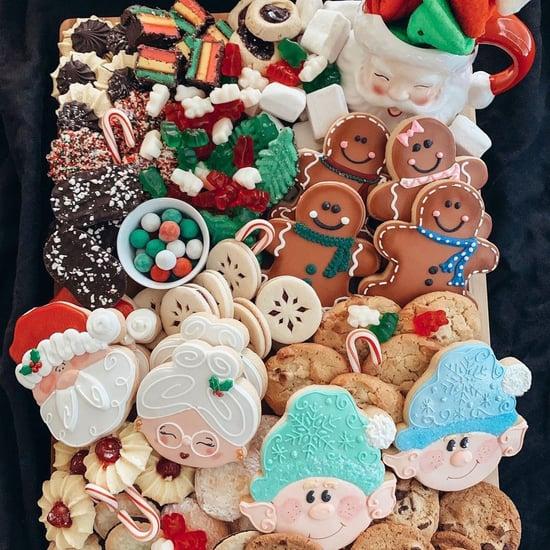Christmas Cookie Charcuterie Board Ideas