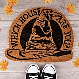 Sorting Hat Welcome Mat
