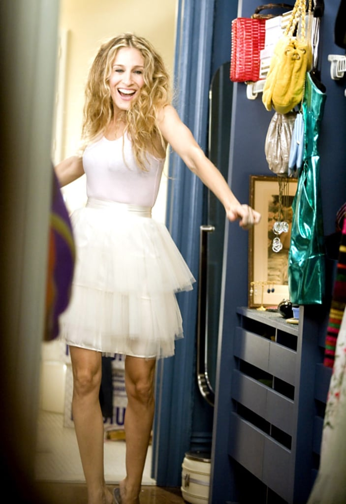 Carrie's Famous Tutu Only Cost $5!