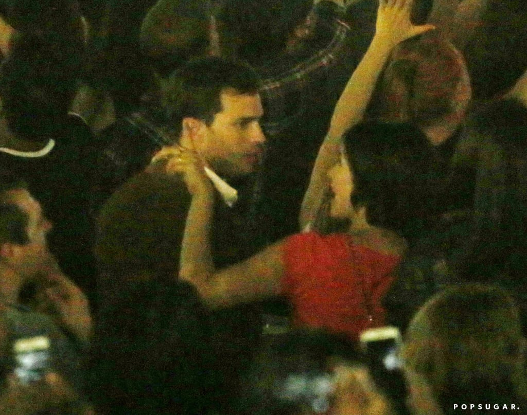 Jamie Dornan and Wife at Rihanna Concert 2016