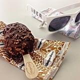 Ice Cream Bar and Sunglasses