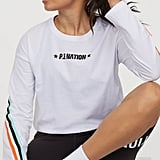 H&M x P.E. Nation Long-Sleeved Cotton Top