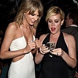 Taylor Swift and Molly Ringwald at Billboard Music Awards