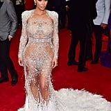 "Kim Took the Met Gala by Storm in Her ""Naked Dress"""