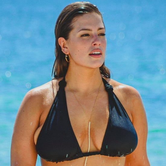 Ashley Graham in a Bikini at the Beach in Cancun Oct. 2016
