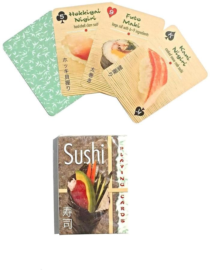 Inkstone Design Sushi Playing Cards