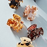 Speckled Mini Hair Clip Set