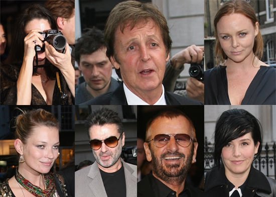 Paul McCartney Presents The Late Linda McCartney's Photographs In An Exhibition Attended By Kate Moss & Ringo Starr