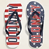 Old Navy Logo-Graphic Flip-Flops