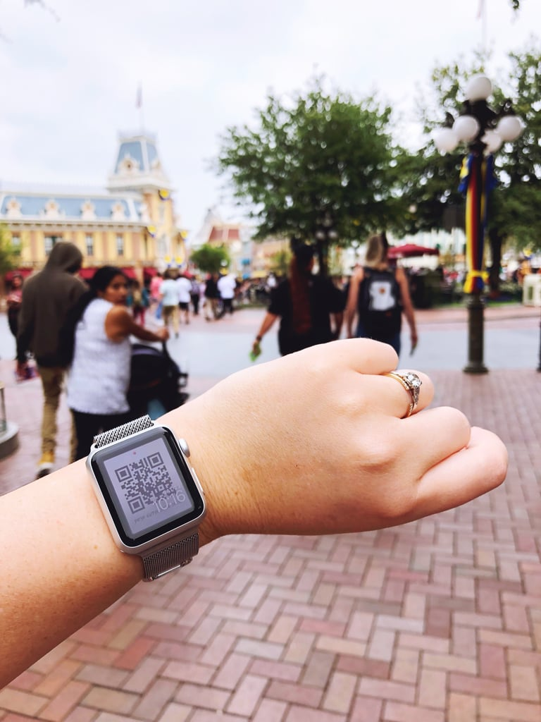 If You're Wearing an Apple Watch at Disneyland, This Cool Trick Will Blow Your Mind