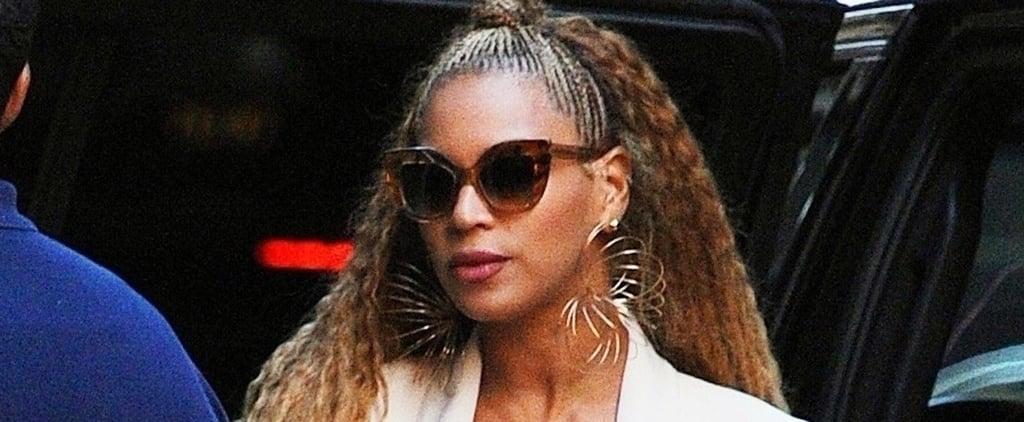 Beyoncé's Neon Pink Bag August 2018
