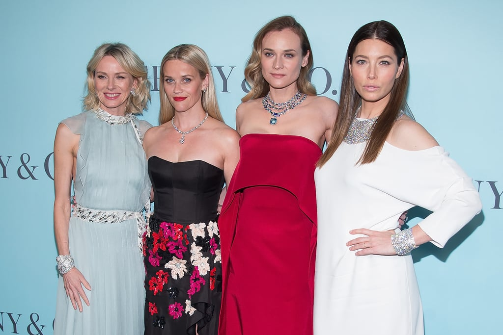 Jessica Biel Has a Fun Girls' Night Out With Reese Witherspoon, Diane Kruger, and Naomi Watts
