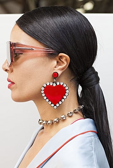 Slicked-Back Ponytail Trend Post Stay-at-Home Orders