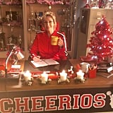 Grinch no more! Sue Sylvester gets festive. Source: Twitter user janemarielynch