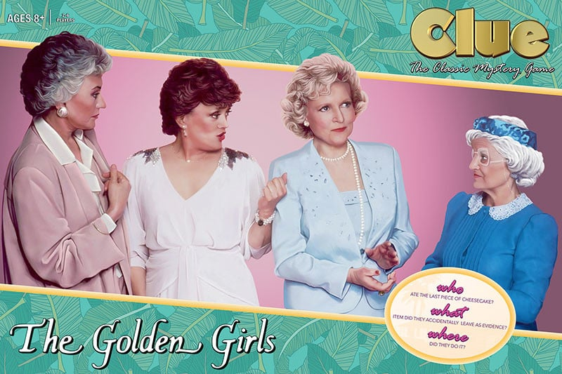 The Golden Girls Solve the Mystery of the Missing Cheesecake in a New Version of Clue