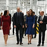 Prince William and Kate Middleton in South Yorkshire 2018