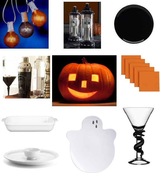 Halloween Dinner Party Decorations