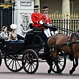 In June 2015, Eugenie and Beatrice rode in a carriage together for the annual Trooping the Colour ceremony.