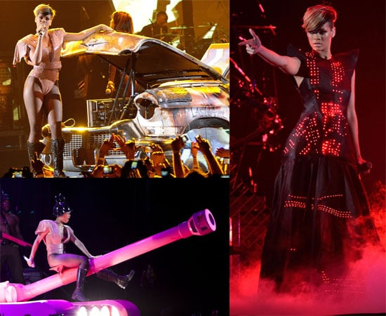 Photos of Rihanna Performing Live on the UK Leg of Her Tour