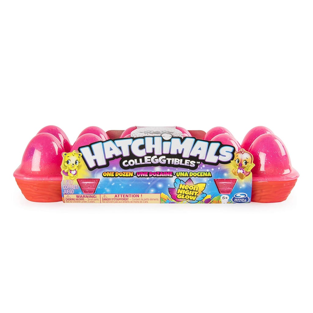 For 5-Year-Olds: Hatchimals CollEGGtibles Neon Nightglow 12-Pack Egg Carton