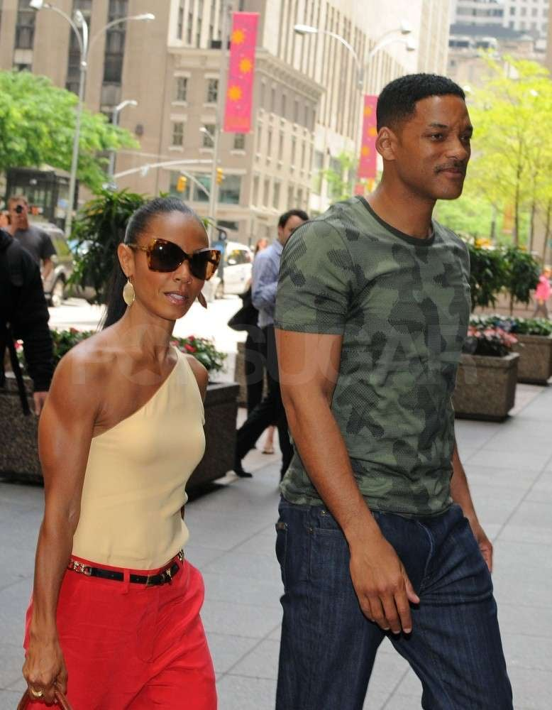 Will and Jada Make a Pretty Power Pair as They Get Back to Business