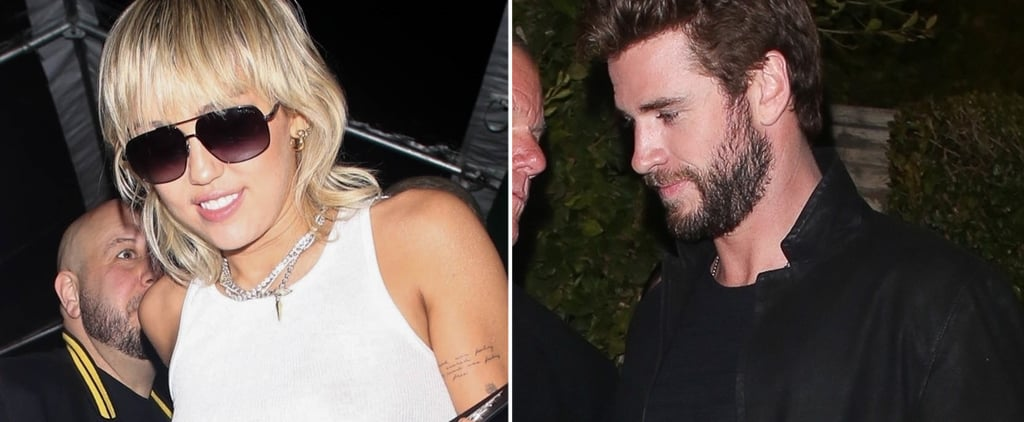 Miley Cyrus and Liam Hemsworth Attend Same Oscars Preparty
