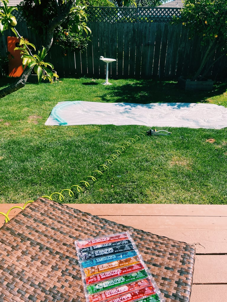 How to DIY a Slip 'n' Slide