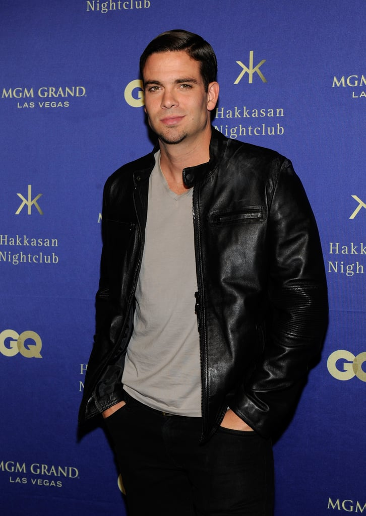 Mark Salling attended the grand opening of Hakkasan in Las Vegas.