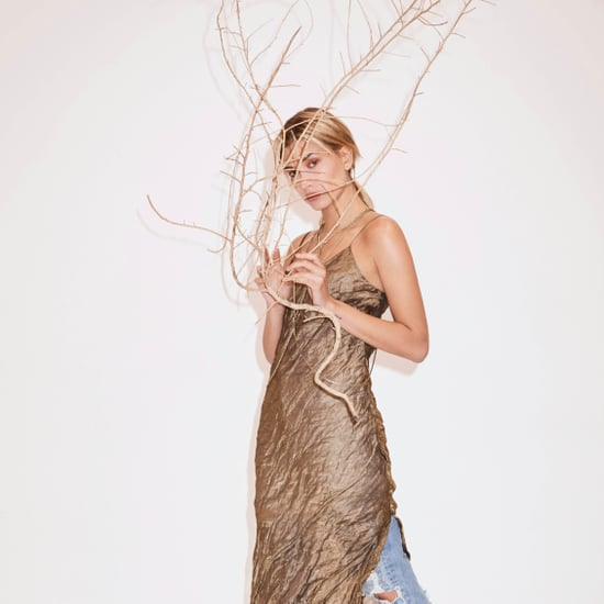Hailey Baldwin For Sass and Bide Resort 2016 Pictures