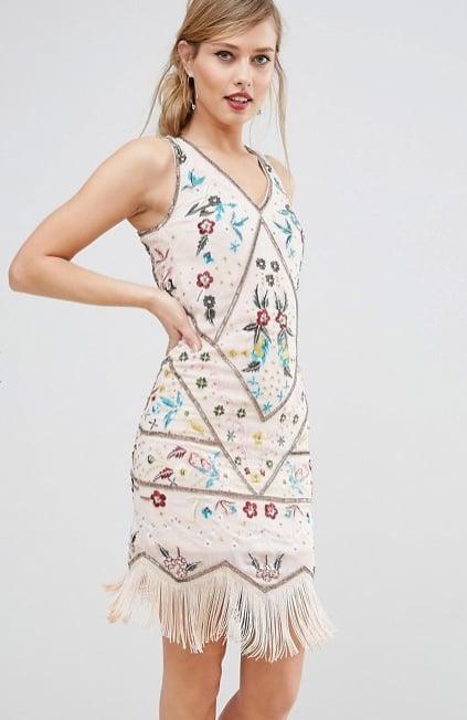 Frock and Frill Beaded Fringe Hem Dress (£150)