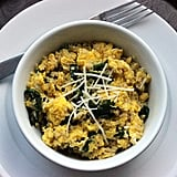 Quinoa and Egg Scramble With Spinach
