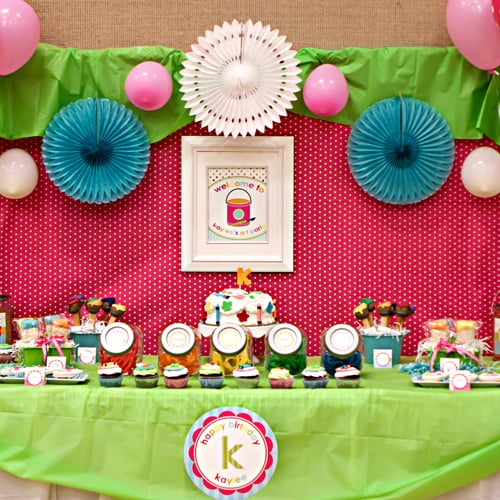Arts And Crafts Kids Birthday Party Popsugar Family