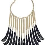 Kate Spade Thalia Sodi Gold-Tone Fringe Necklace